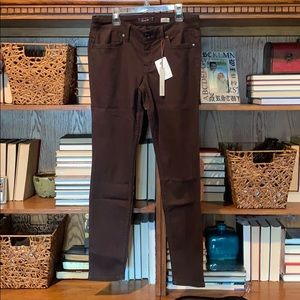 NWT Level 99 Janice Ultra Skinny Jeans- Brown